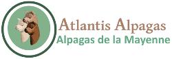 Atlantis Alpagas – Alpagas de la Mayenne Logo